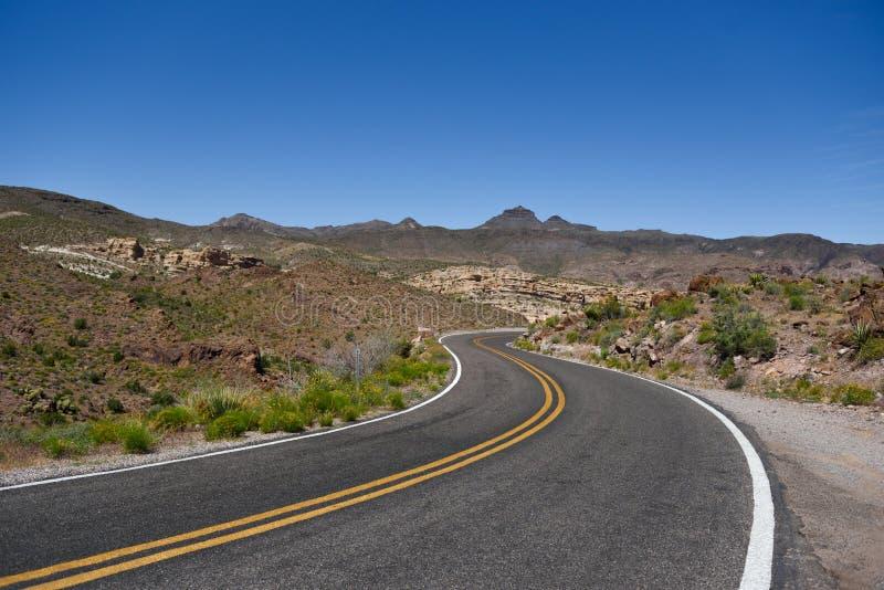 Route 66, het spook achter de legende royalty-vrije stock afbeeldingen