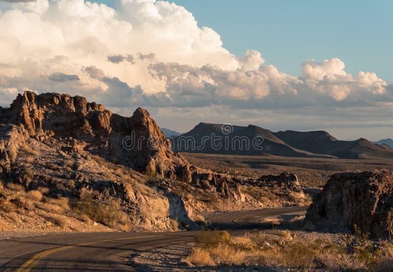 Route 66 histórico en Arizona fotos de archivo libres de regalías
