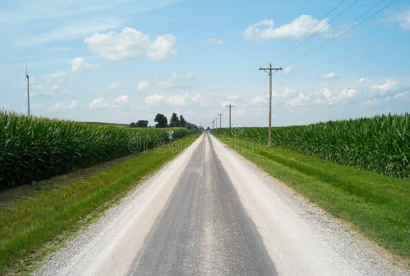 Route 66 historique, l'Illinois, Etats-Unis photo stock
