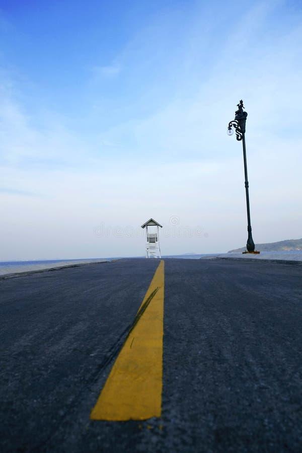 Route ? la Maison Blanche  images libres de droits