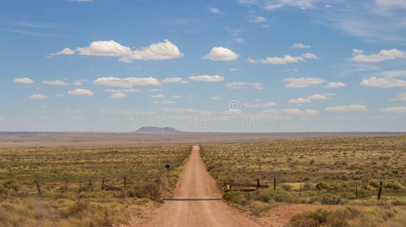 Route latérale de Grand Canyon photographie stock libre de droits