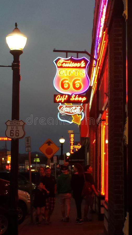 Route66 royalty free stock image