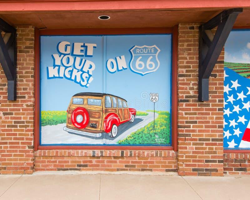 Route 66: stock photo