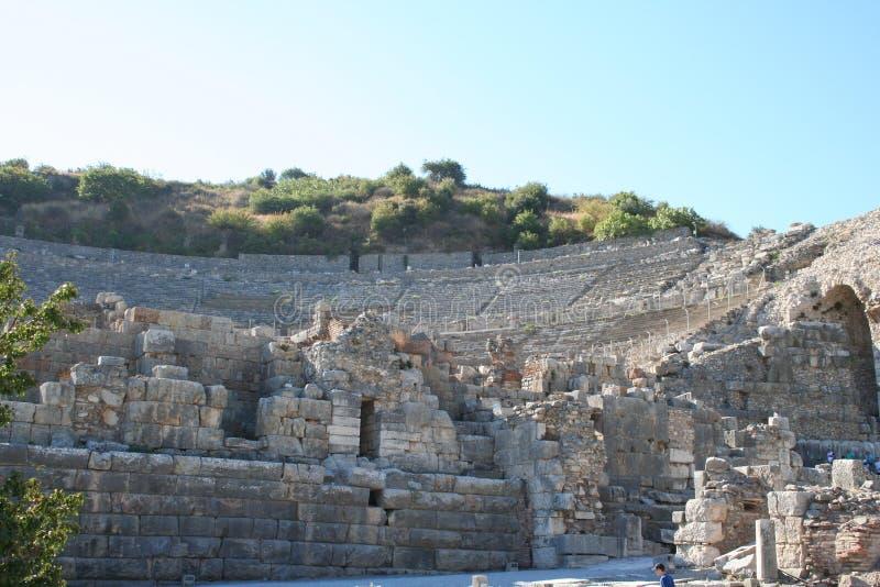 Route menant au stade d'Ephesus photographie stock libre de droits