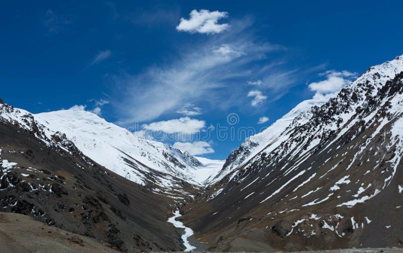 Route Pakistan de Karakoram images libres de droits