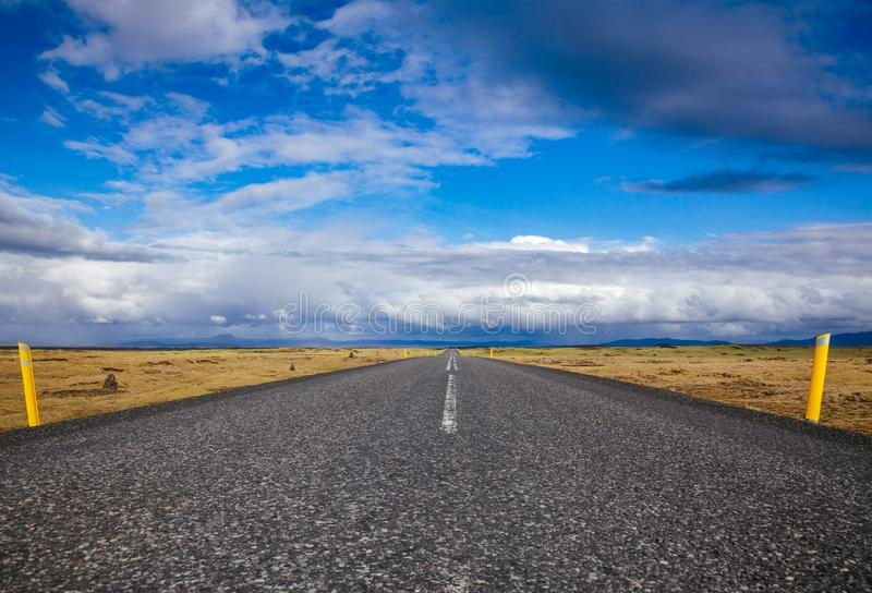 Route 1 Ring Road Northeastern Iceland Scandinavia royalty free stock photos