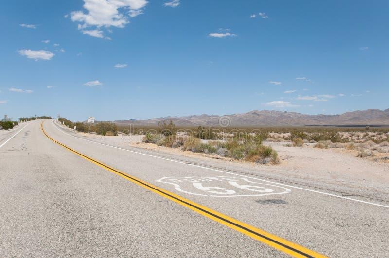 Route 66, route de mère, la Californie, Arizona, Etats-Unis photos libres de droits