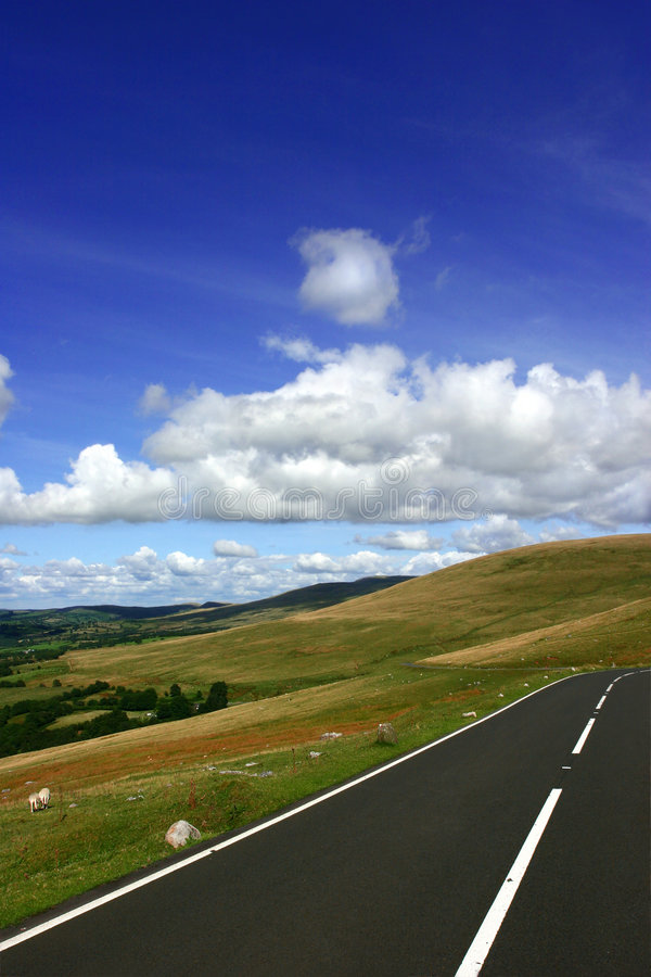 Route rurale image libre de droits