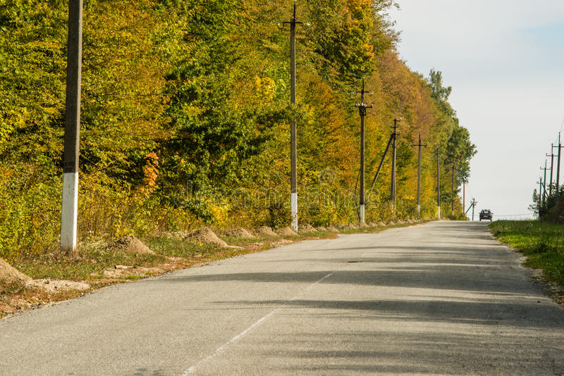 Route rurale images stock