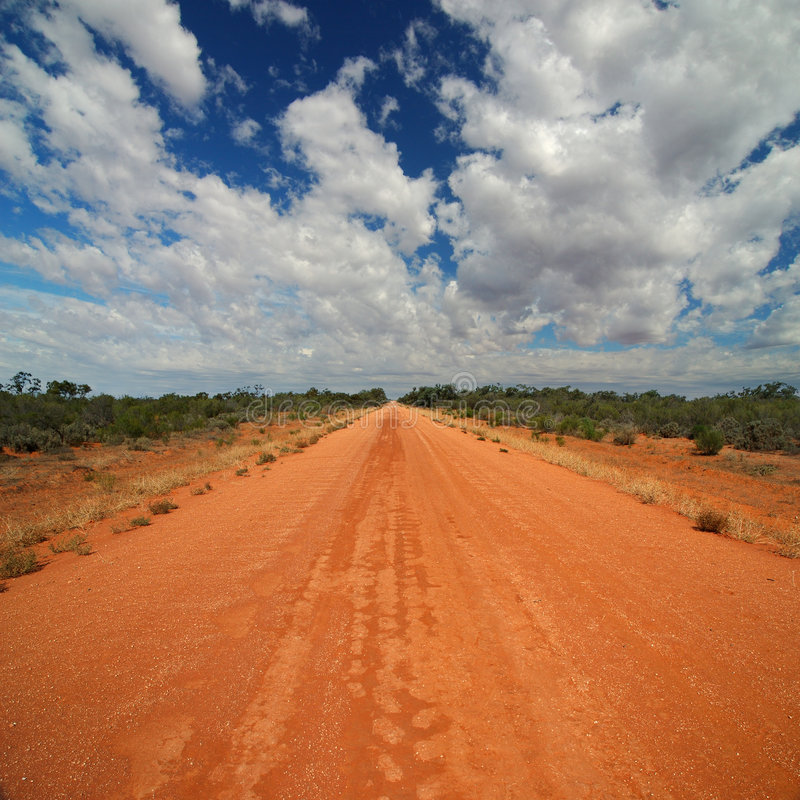 Route rurale photos stock