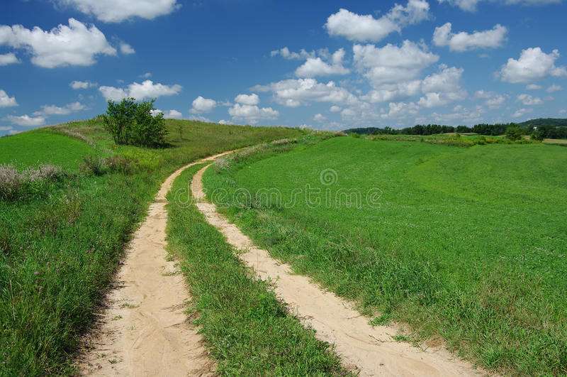 Route rustique images stock