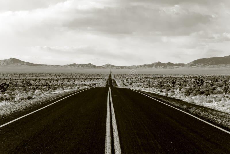 Route sans fin photo libre de droits