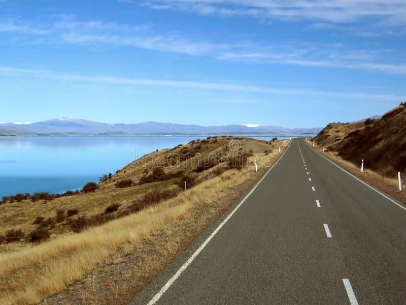 Route scénique de montagne image stock