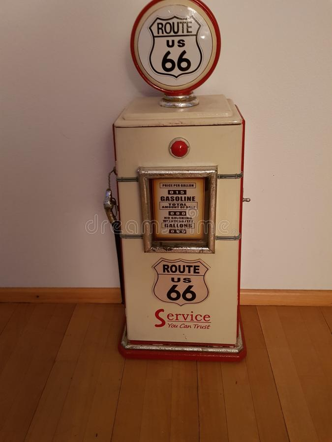 Route 66 -Station lizenzfreies stockbild