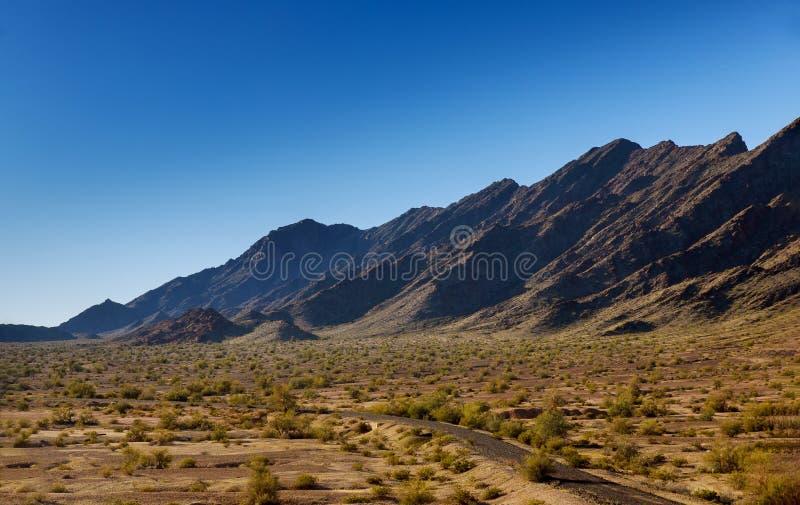 Route sur la montagne du Nouveau Mexique photo stock