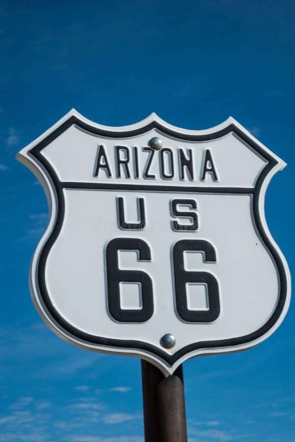 Route 66 Teken royalty-vrije stock foto's