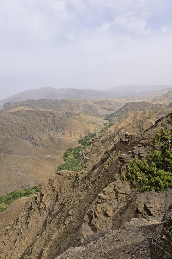 Route Tizi-n-Tichka Maroc photographie stock libre de droits