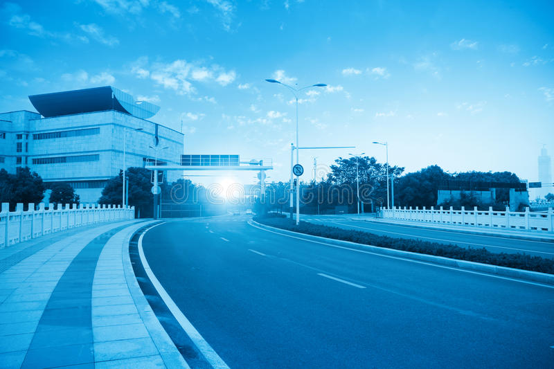 Route urbaine photos libres de droits