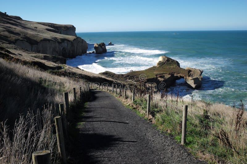 Route vers la mer image stock