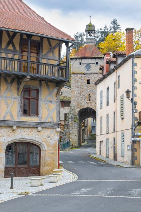 Route vers le château photos libres de droits