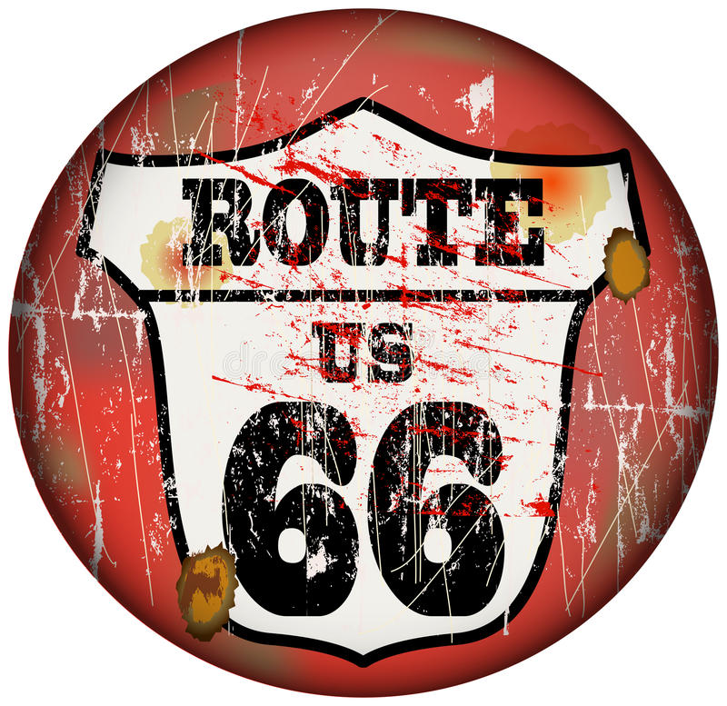 Download Route 66 Royalty Free Stock Photography - Image: 34569007