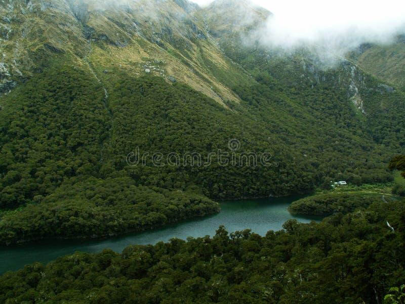 Routeburn Spur Neuseeland lizenzfreies stockbild