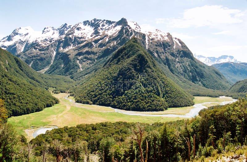 Routeburn Track, New Zealand royalty free stock photos