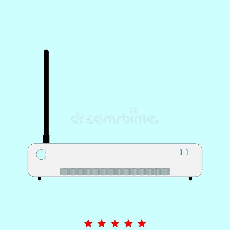 Router è icona illustrazione di stock