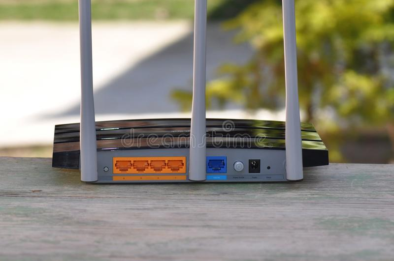 router royalty-vrije stock afbeelding