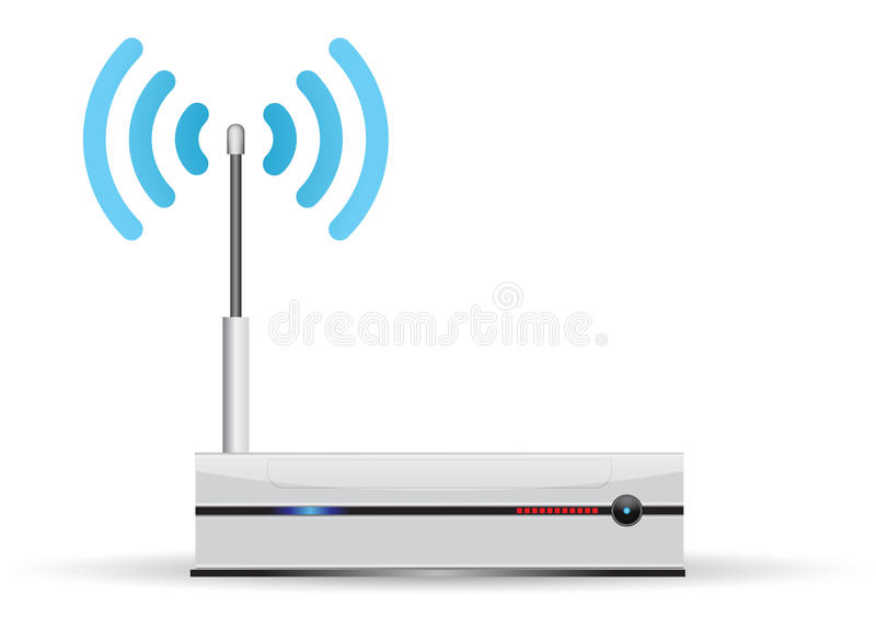 Router royalty illustrazione gratis