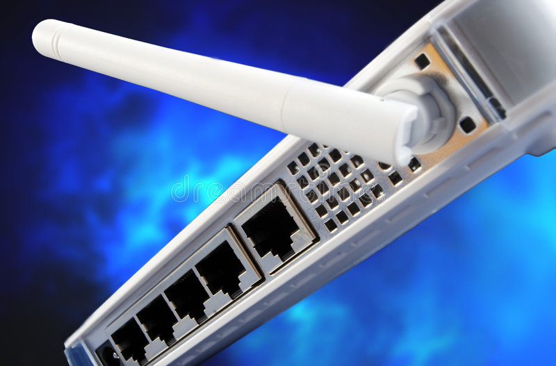 Router stock foto