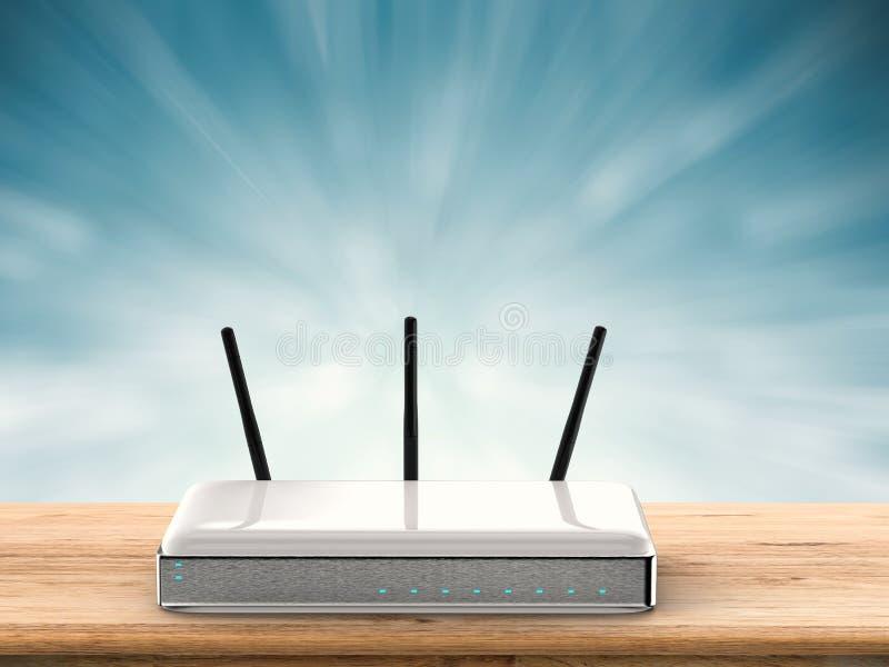 router illustrazione vettoriale