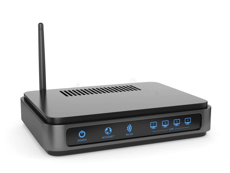 Router di Wi-Fi illustrazione di stock