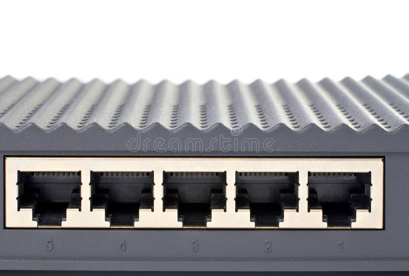 router för tillbaka panel royaltyfri foto