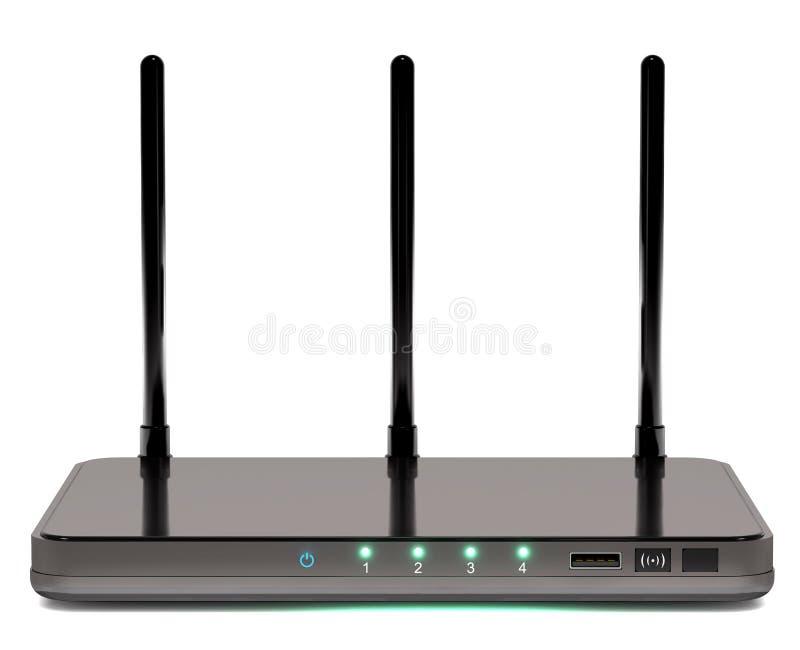 Router moderno ilustração do vetor