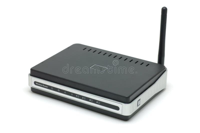 Router senza fili fotografie stock libere da diritti