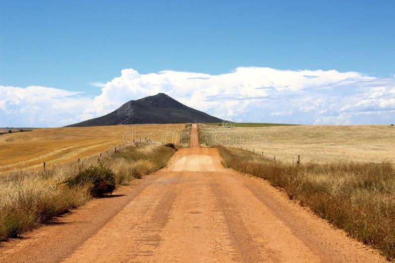 Routes d'été photographie stock libre de droits