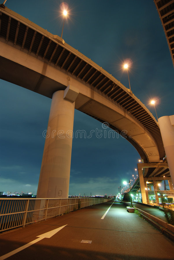 Routes De Tokyo Photographie stock libre de droits