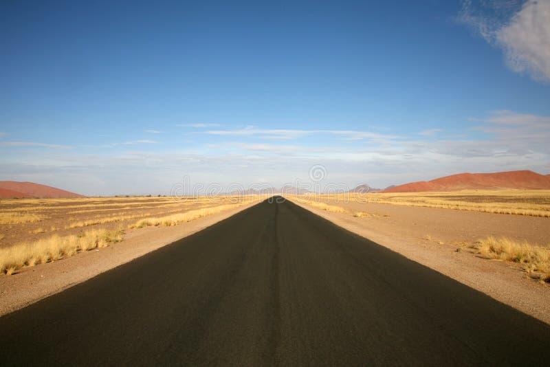Routes en Namibie photos libres de droits