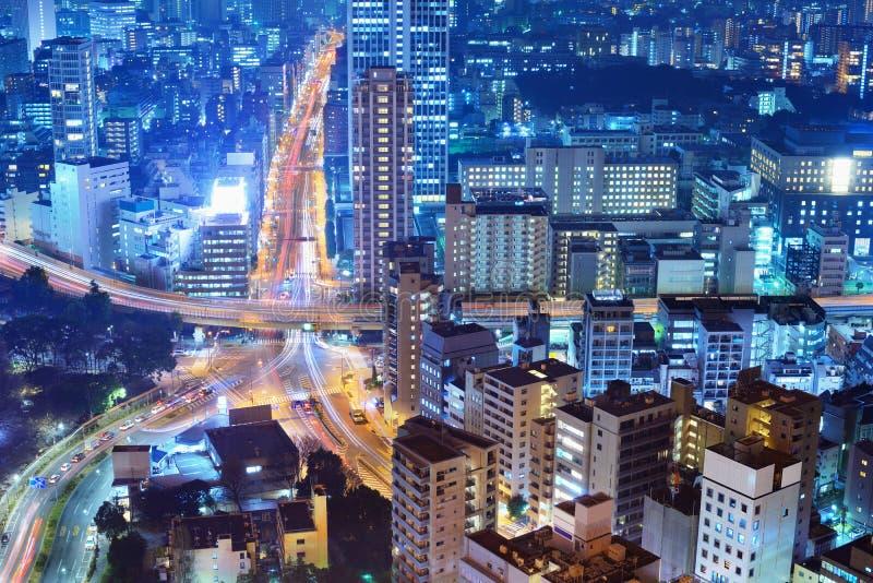 Scène de ville à Tokyo images libres de droits