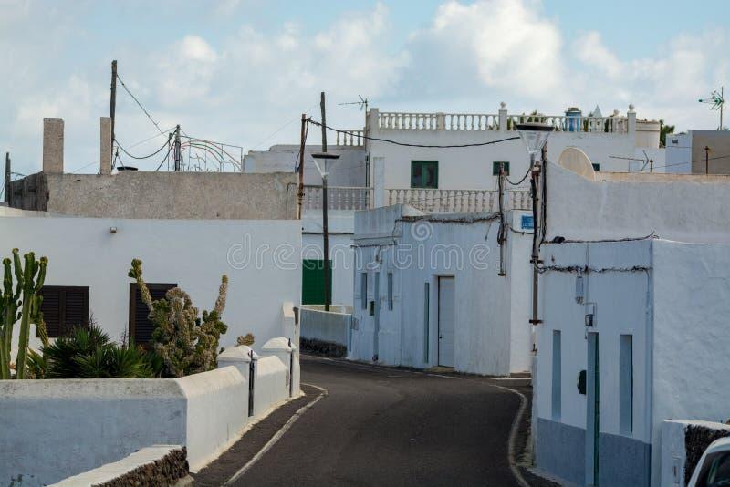 Routes sur l'île de Lanzarote, transport, la meilleure manière de découvrir photos stock