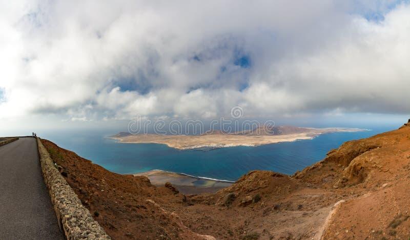 Routes sur l'île de Lanzarote, transport, la meilleure manière de découvrir image stock
