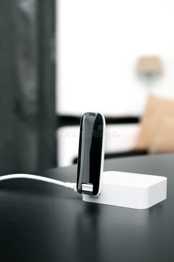 routeur mobile de radio d'Internet de 3g 4g photo stock