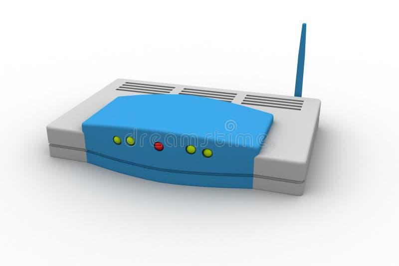 Routeur sans fil illustration de vecteur