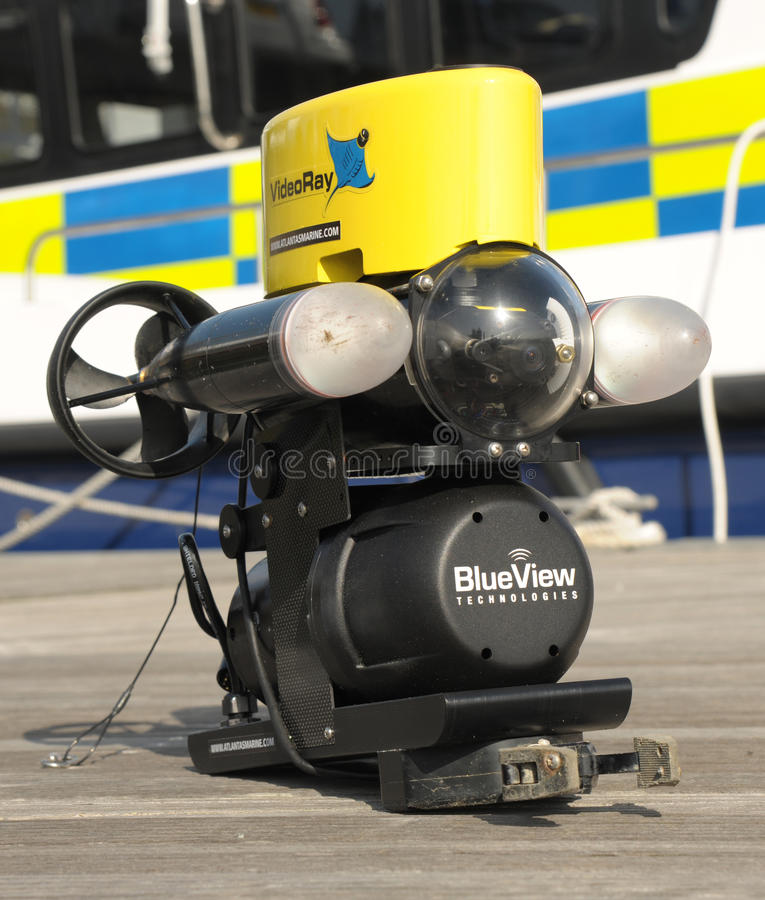 ROV robot submarine stock photos