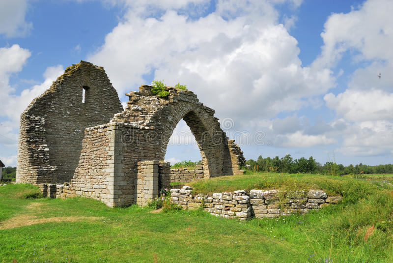 Rovina della chiesa immagini stock libere da diritti