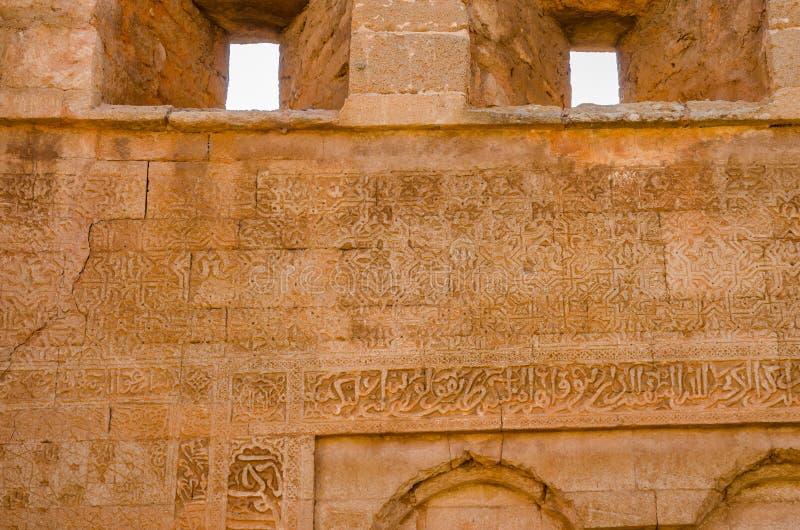 Rovine antiche della necropoli di Chellah con la moschea ed il mausoleo nella capitale Rabat, Marocco, Nord Africa del ` s del Ma immagini stock libere da diritti
