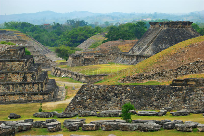 Rovine Archaeological di EL Tajin, Veracruz, Messico immagine stock