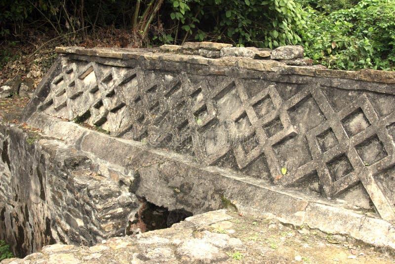 Rovine archeologiche di EL Tajin, Veracruz, Messico fotografia stock