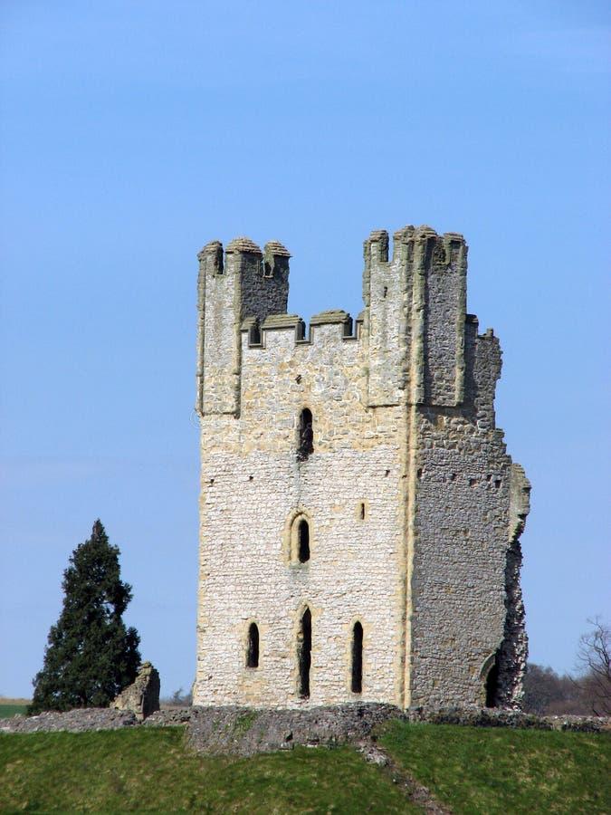 Rovine del castello di Helmsley immagini stock